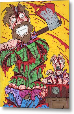 Axe Me Another Metal Print by Anthony Snyder