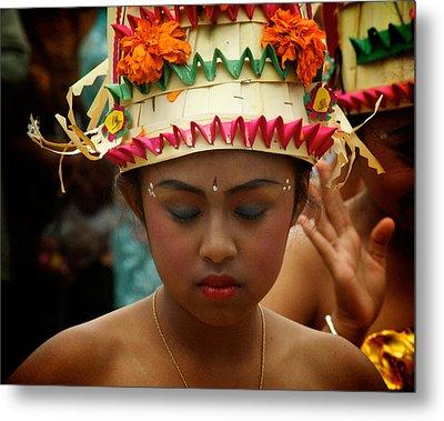 Balinese Dancer Metal Print by Ari Saaski