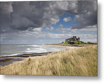 Bamburgh Castle Northumberland, England Metal Print by John Short
