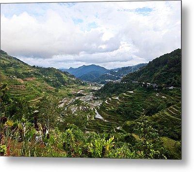 Banaue Rice Terraces Metal Print