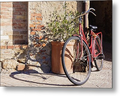 Bicycle Metal Print by Jeremy Woodhouse
