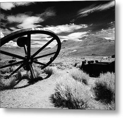 Big Wheel Bodie Metal Print