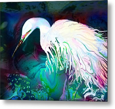 Bird Of Paradise Metal Print by Doris Wood