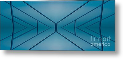 Blue Reflection Metal Print by Odon Czintos
