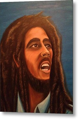 Bob Marley Metal Print by Biren Biren