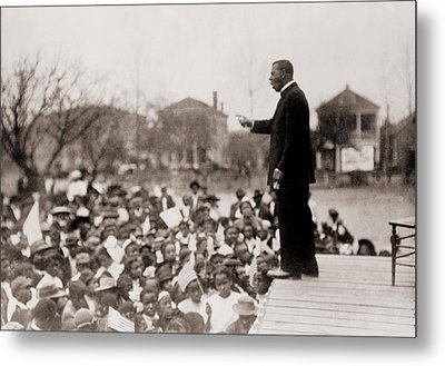 Booker T. Washington 1856-1915 Metal Print by Everett