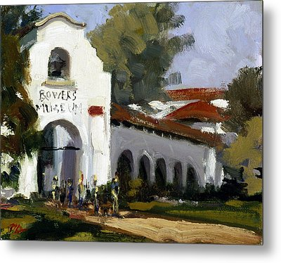 Bowers Museum Metal Print by Mark Lunde