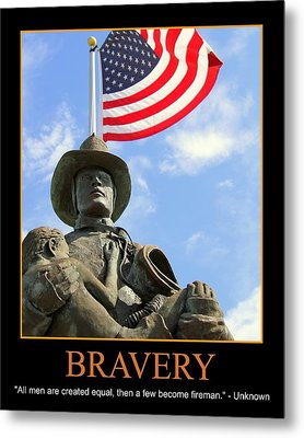 Bravery Metal Print by PMG Images