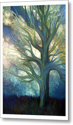 Metal Print featuring the painting Brisk by Monica Furlow