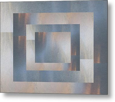 Brushed 19 Metal Print by Tim Allen