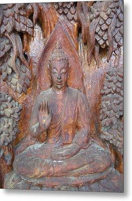 Buddha Image  Metal Print by Panyanon Hankhampa