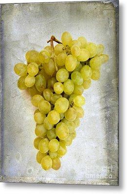 Bunch Of Grapes Metal Print by Bernard Jaubert