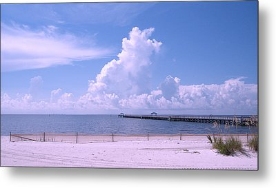 Metal Print featuring the photograph Calming View by Brian Wright