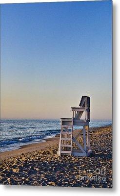 Cape Cod Lifeguard Stand Metal Print