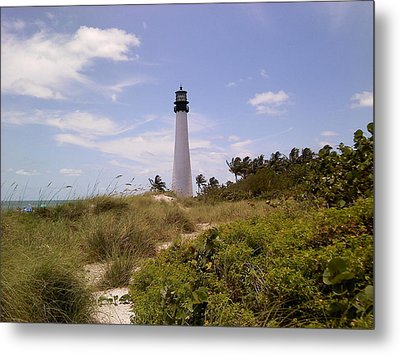 Cape Florida Metal Print by Tiffney Heaning
