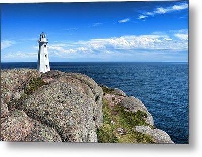 Cape Spear Lighthouse Metal Print by Steve Hurt