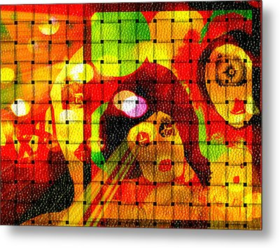 Metal Print featuring the digital art Carnival Freinds by Rc Rcd