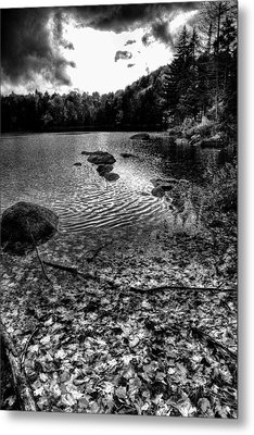Cary Lake After The Storm Metal Print by David Patterson