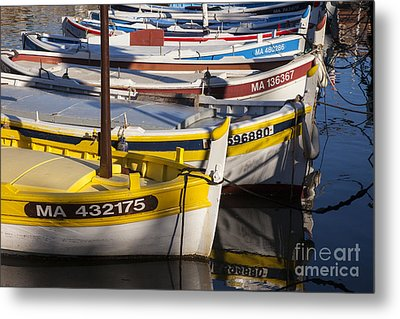 Cassis Boats Metal Print by Brian Jannsen