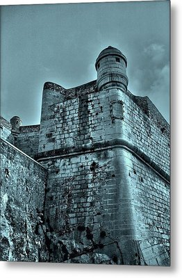 Castle Of Peniscola - Spain Metal Print