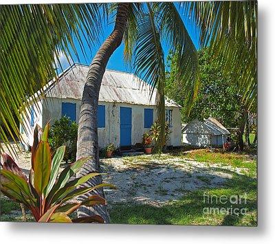 Cayman Islands Cottage Metal Print by James Brooker