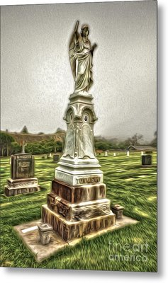 Cayucos Cemetery - 01 Metal Print by Gregory Dyer