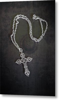 Celtic Cross Metal Print by Joana Kruse