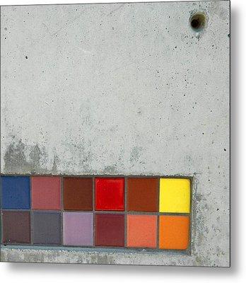 Cement Art Metal Print by Everette McMahan jr