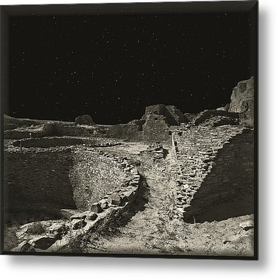 Chaco Canyon Metal Print by Gordon Engebretson