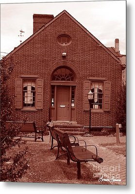 Chamber Of Commerce Elkton Md Metal Print by Lorraine Louwerse