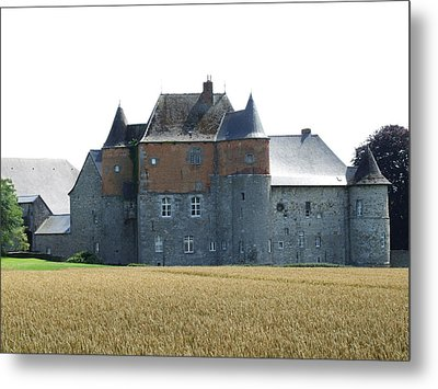 Metal Print featuring the photograph Chateau Fort De Feluy Belgium by Joseph Hendrix