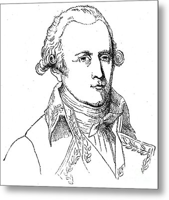 Chevalier De Lamarck Metal Print by Granger