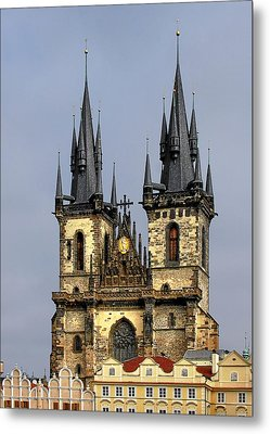 Church Of Our Lady Before Tyn - Prague Cz Metal Print