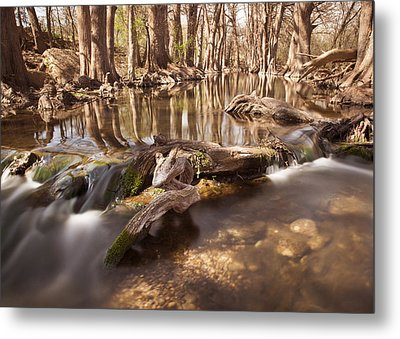 Cibolo Creek Metal Print by Paul Huchton