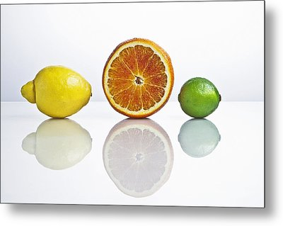Citrus Fruits Metal Print by Joana Kruse