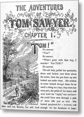 Clemens: Tom Sawyer Metal Print by Granger
