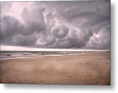 Coastal Storm Metal Print by Betsy Knapp
