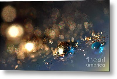 Color Drops Metal Print