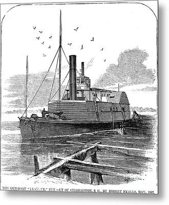 Confederate Ship, 1862 Metal Print by Granger