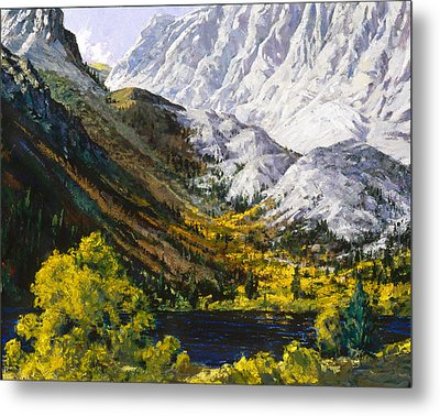 Convict Lake Metal Print by Mark Lunde