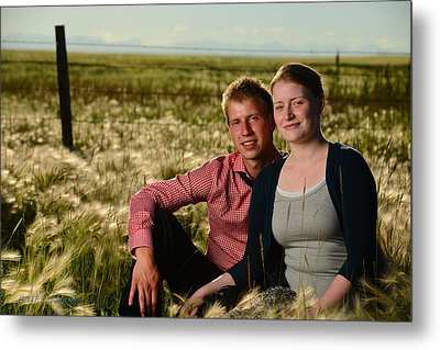 Courtney And Travis Metal Print