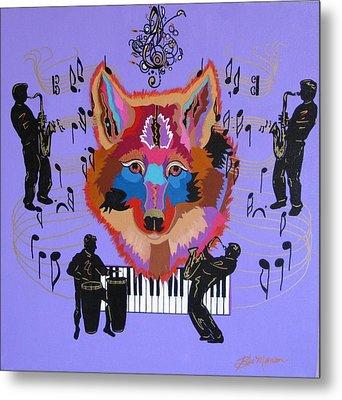 Coyote Harmony Metal Print
