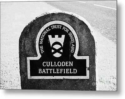 Culloden Moor Battlefield Site Highlands Scotland Metal Print by Joe Fox