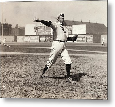 Cy Young (1867-1955) Metal Print by Granger