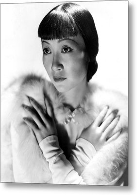 Dangerous To Know, Anna May Wong, 1938 Metal Print by Everett