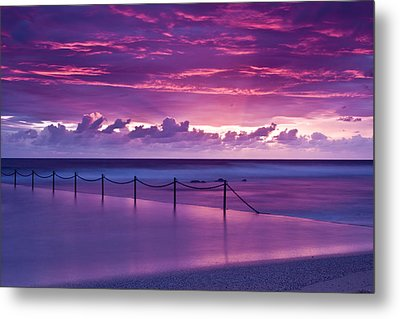 Dawn Fire Metal Print by I Take Thee Photography