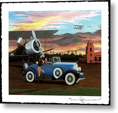 Dawn Flight Metal Print by Tracy Dennison