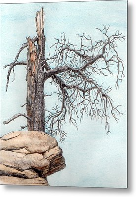Dead Tree Metal Print by Inger Hutton