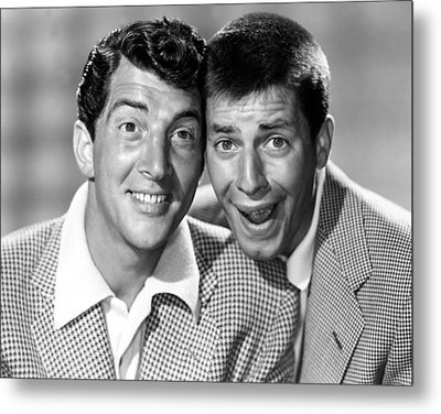 Dean Martin And Jerry Lewis, C. Early Metal Print by Everett