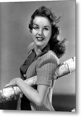 Deanna Durbin, 1941 Metal Print by Everett